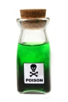 poison bottle green